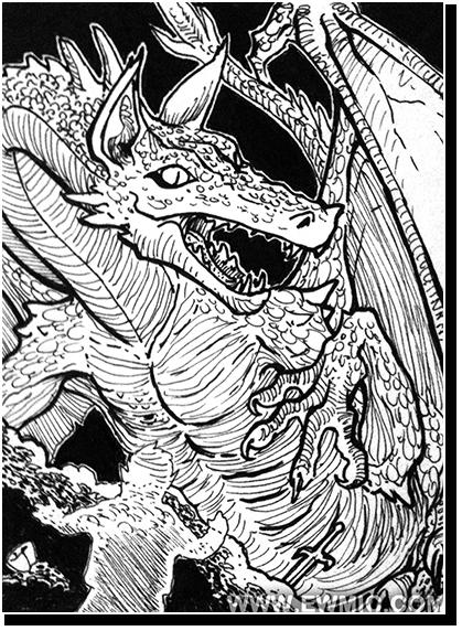 Monster Card: Smaug
