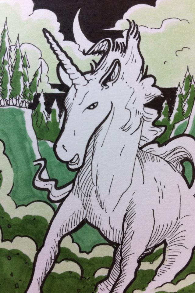 Monster Card: Unicorn