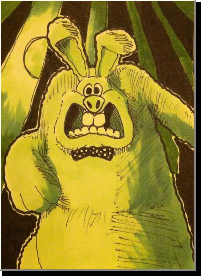 Monster Card: Were-Rabbit