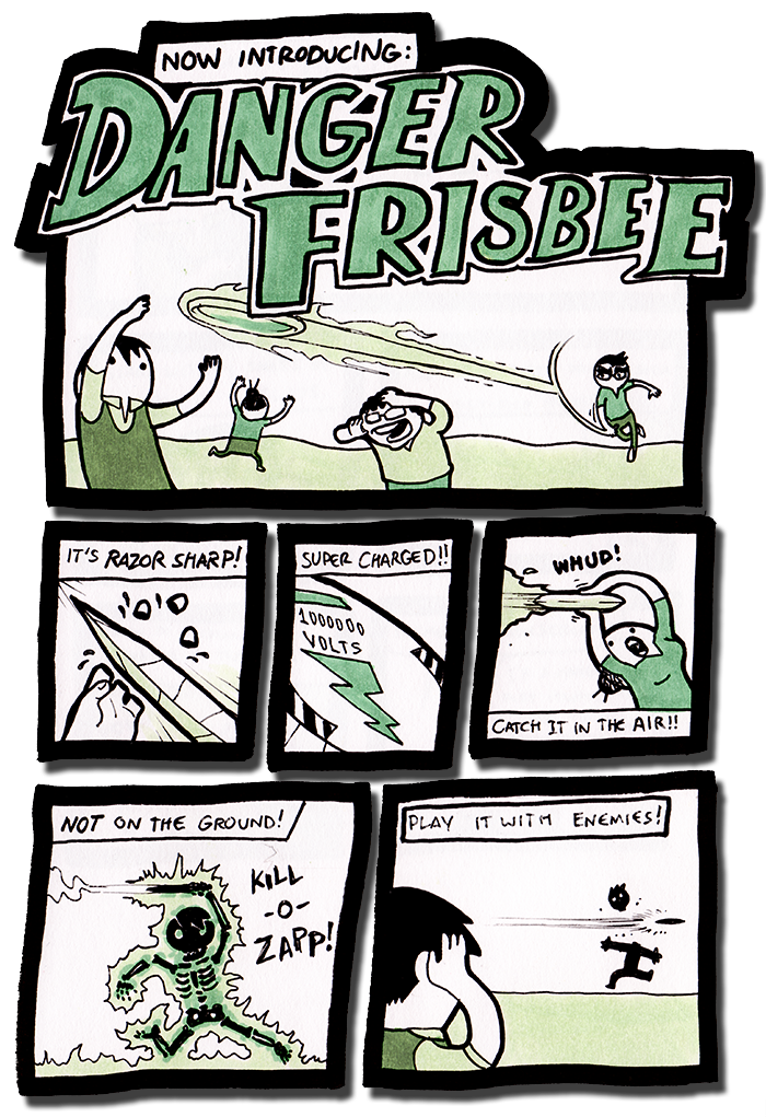 Danger Frisbee!